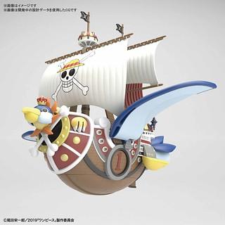 偉大的海賊船系列《ONE PIECE STAMPEDE》「千陽號 劇場版本」組裝模型作品!ワンピース偉大なる船コレクション サウザンド・サニー号 フライングモデル
