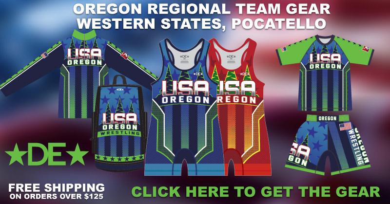 Oregon Western Regionals Gear