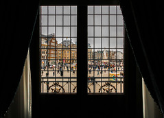 Amsterdam Royal Palace Balcony