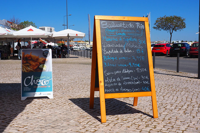 Fish restaurants, Setubal, Portugal