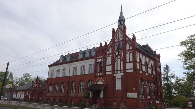 1900/01 Berlin neogotische Gemeindeschule Schmöckwitz von Kurt Berndt Adlergestell 784 in 12527 Schmöckwitz
