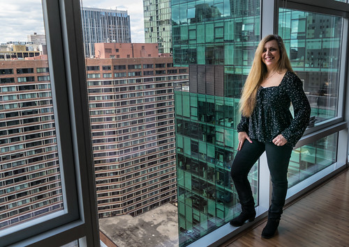 chicago hww illinois nikon nikond5300 wanda beautiful city cute downtown geotagged girl hotel portrait pose pretty skyscraper skyscrapers smile urban view window woman