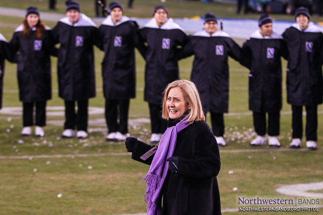 Dr. Mallory Thompson Conducts Our Alma Mater