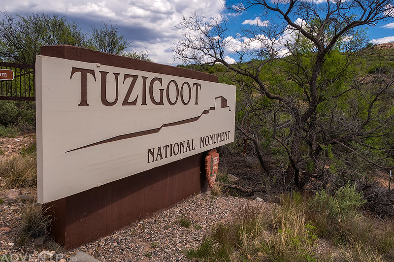 Tuzigoot National Monument Sign