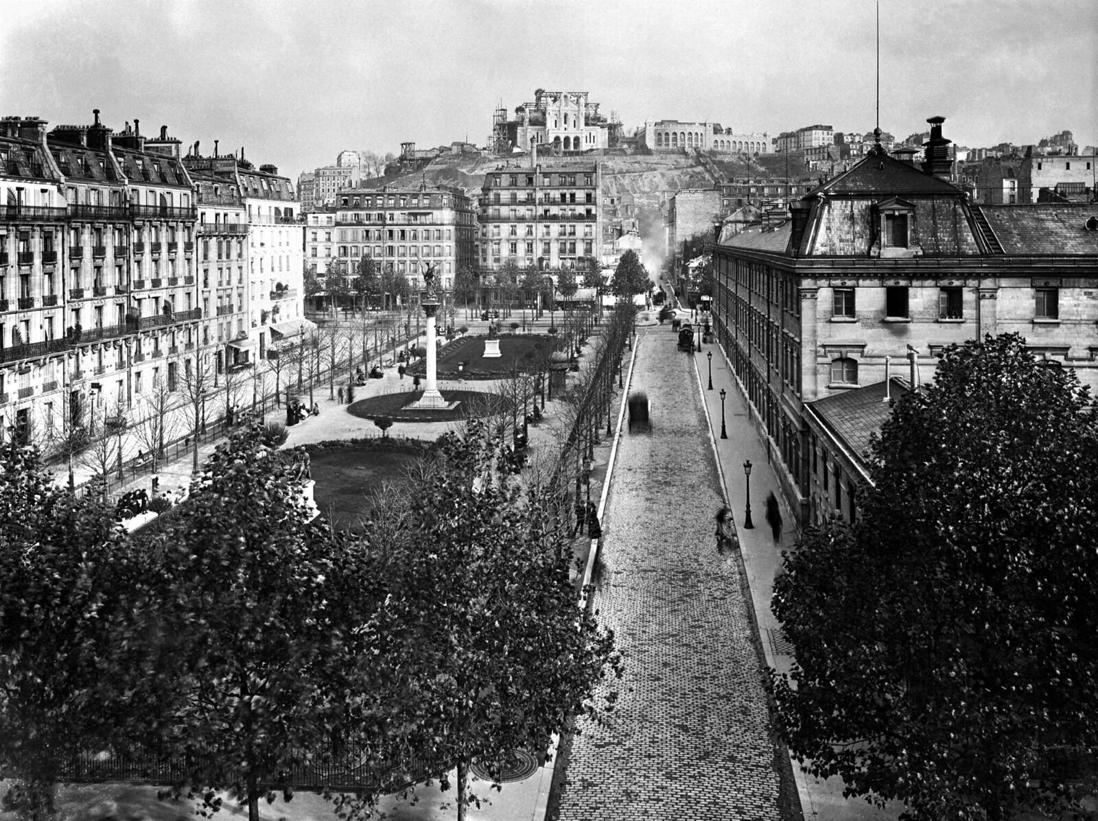 1870. Строительство базилики Сакре-Кёр на Монмартре