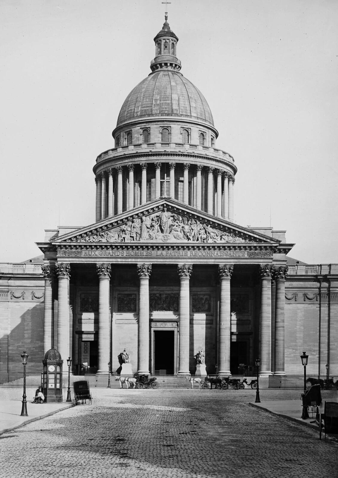 1870. Париж (округ V). Пантеон