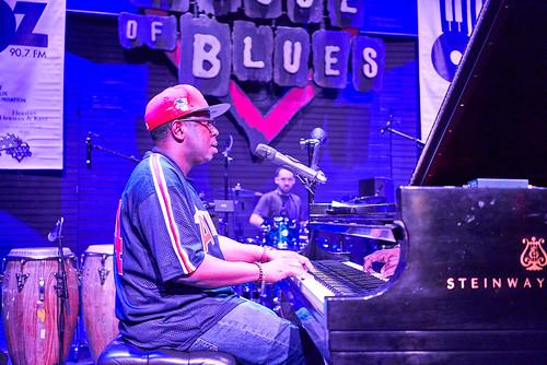 Nigel Hall at Piano Night - April 29, 2019. Photo by Eli Mergel.