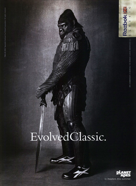 Reebok & Planet of the Apes, 2001 ad