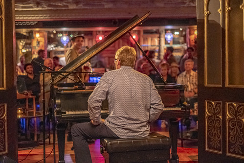 Tom Worrell  at Piano Night - April 29, 2019. Photo by Marc PoKempner.