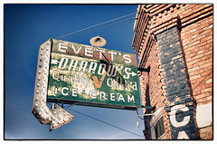 Evetts ice cream, Magdalena, New Mexico