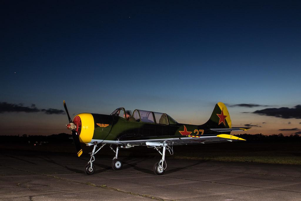 EGUD - Yakovlev Yak-52 - G-YAKX
