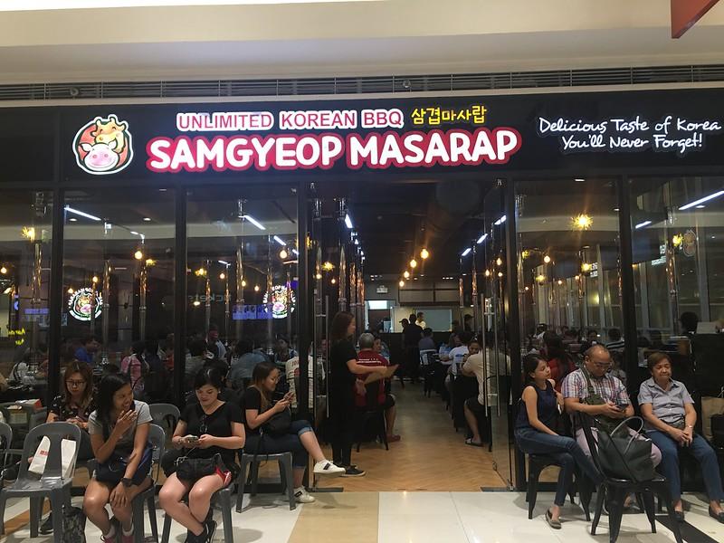 Samgyeopmasarap, SM Marikina