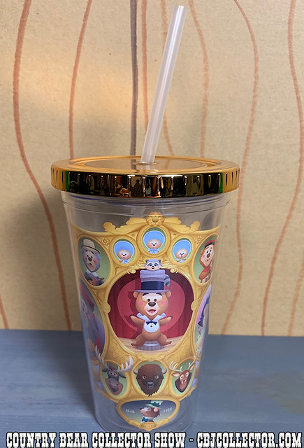2019 Disney Cute Country by  Jerrod Maruyama Tumbler - Country Bear Collector Show #204
