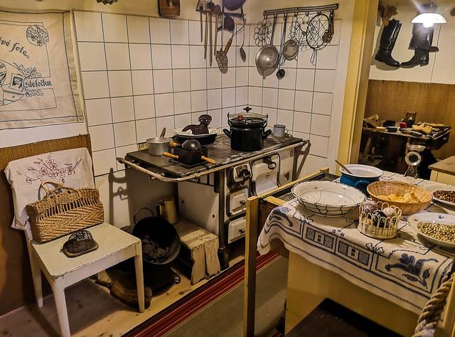 Old vintage kitchen