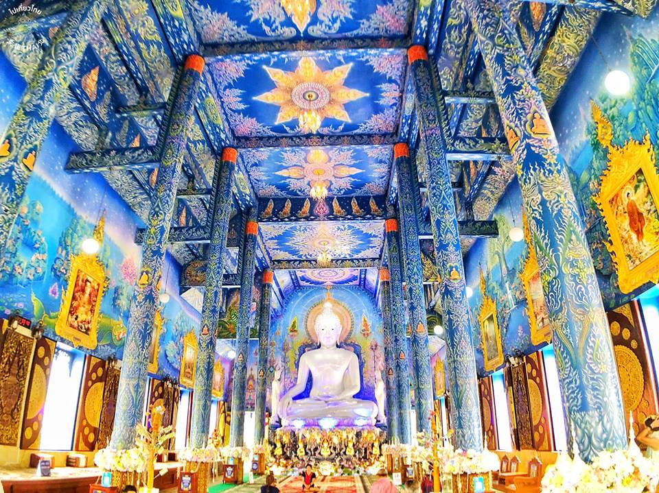 清萊一日遊 黑屋、白廟、藍廟與長頸族村