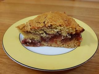 Zesty Rhubarb Ripple Cake