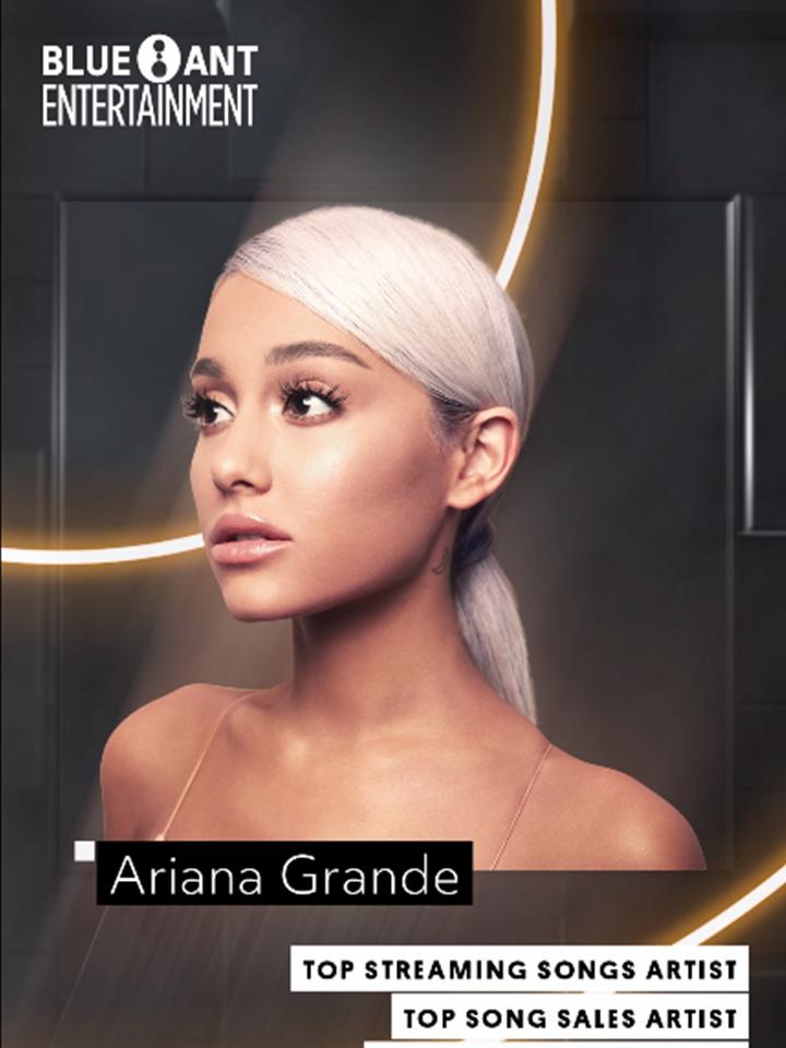 Blue Ant Bbma_Ariana Grande