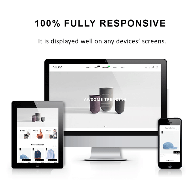 At Guco - shoes Fashion PrestaShop Theme - Fully responsive