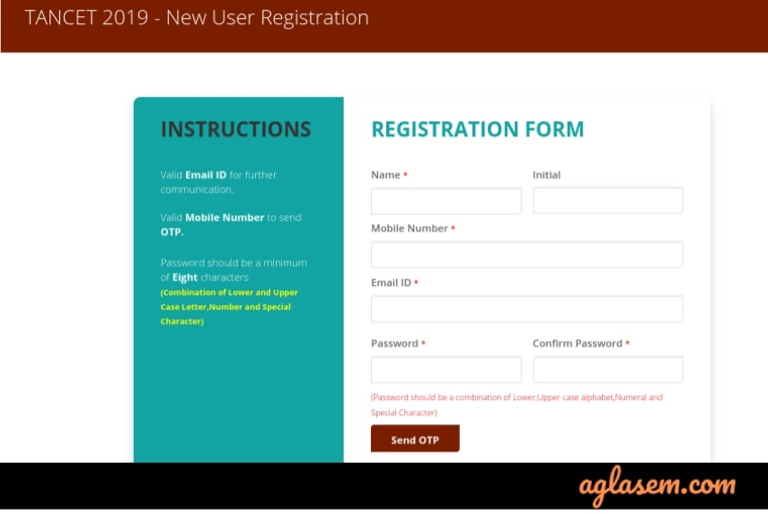 TANCET 2019 Registration