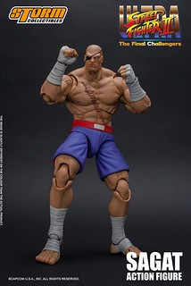 Storm Collectibles《終極快打旋風Ⅱ:最後的挑戰者》獨眼泰拳帝王「沙加特」!SAGAT – Ultra Street Fighter II: The Final Challengers