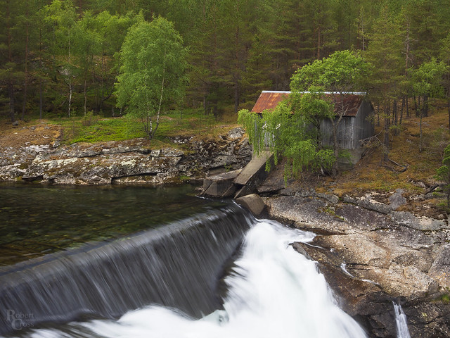Silky water in central Norway