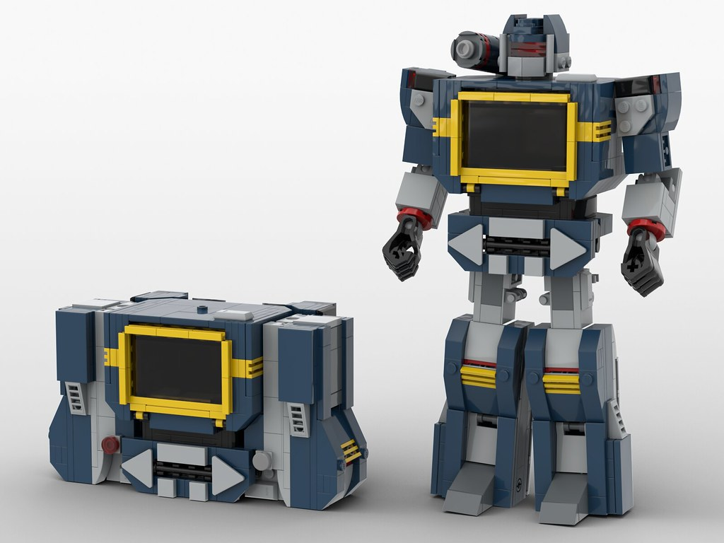 lego transformers G1 soundwave moc (V2.0)