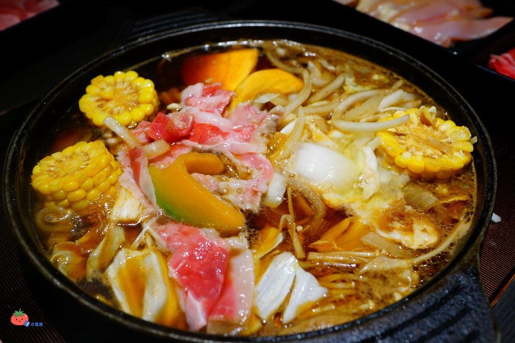 台北中山區壽喜燒吃到飽 壽喜燒一丁二代目 晴光商圈