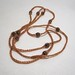 La Boutique Extraordinaire - Diana Brennan - Collier fil de métal et perles de verre - 70 €