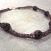 La Boutique Extraordinaire - Diana Brennan - Collier fil de métal et perles de verre - 80 €