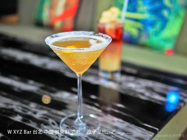 W XYZ Bar 台北 中山 雅樂軒 酒吧 28