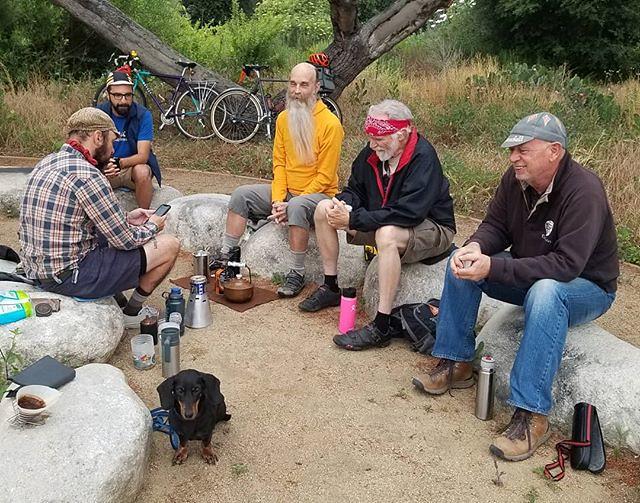 #adventureteckel at L.A. River Camp Coffee!