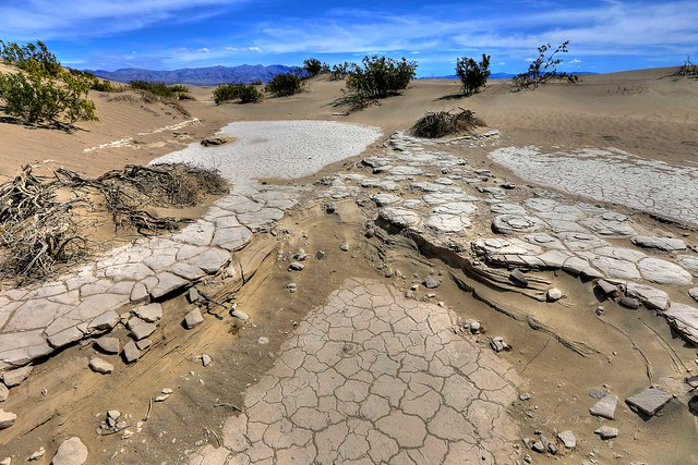 The many layers of Death Valley...