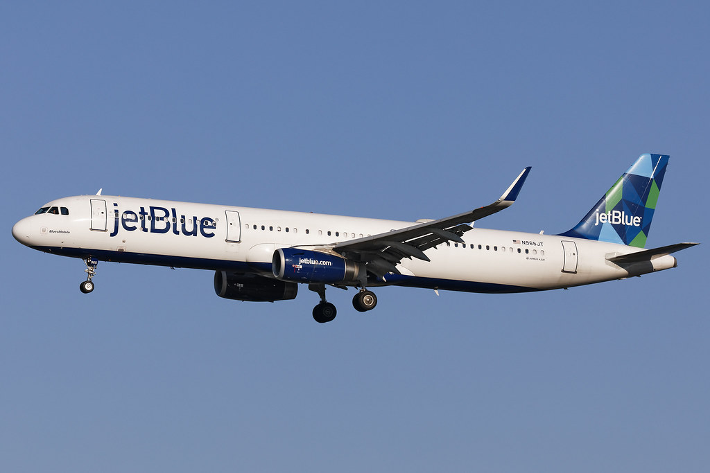 N965JT - Airbus A321-231(WL) - jetBlue - KMCO - Apr 2019