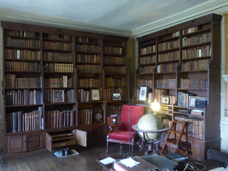 Canons Ashby House - Book Room