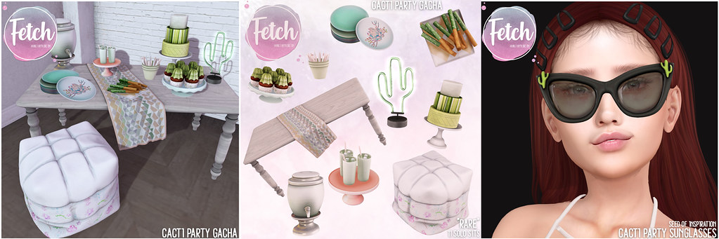 [Fetch] Cacti Party @ Gacha Garden! - TeleportHub.com Live!