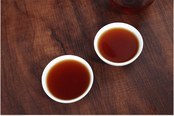 2014 HaiWan LaoTongZhi ShiWuChenXiang  Commemoration Cake 357g Puerh Shou Cha Ripe Tea