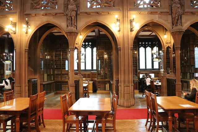 Visitar bibliotcea John Rylands