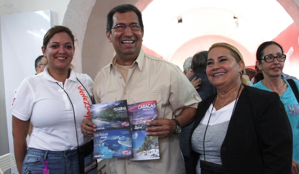 Ministra Lugo lanza el destino Venezuela en la Feria Internacional de Turismo de La Habana