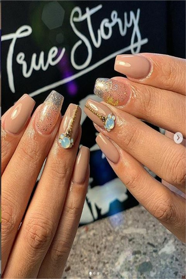 30 Amazing 3D Nail Art Designs Trends 2019 #nail_art_designs #trendy_nails #3d_nails #3d_manicure