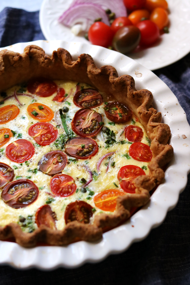 Lower East Side Brunch Tart