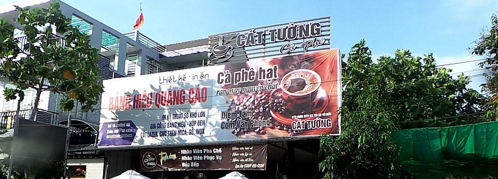 bảng-hiệu-Cà phê sạch ngon TP. Cần Thơ-0915-32-6788