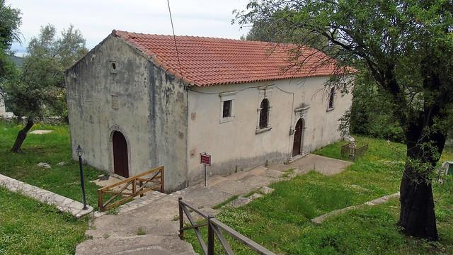 Ο ναός του Αγίου Βάρβαρου στην Κατούνα Λευκάδας