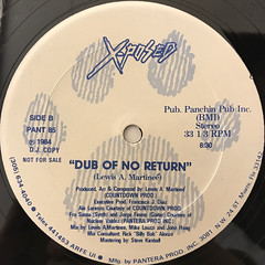 X-POSED:POINT OF NO RETURN(LABEL SIDE-B)