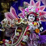 ISKCON Juhu Sringar Deity Darshan on 9th May 2019