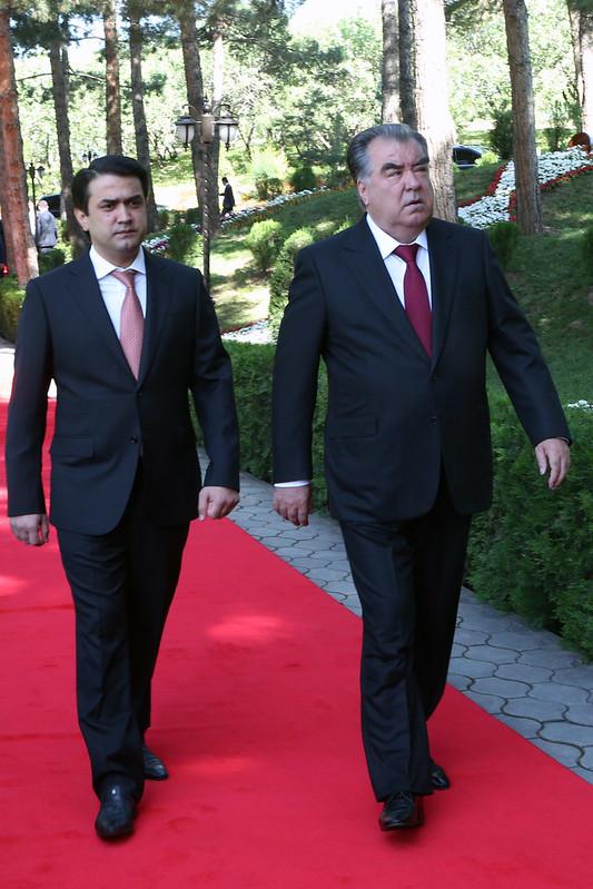 Президент Республики Таджикистан Эмомали Рахмон  принял участие на торжественном мероприятии, посвященном Дню Победы