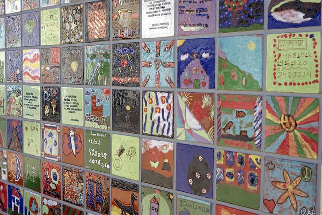 Tile Mosaic in Torrelodones, near Madrid