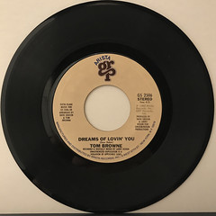 TOM BROWNE:FUNKIN' FOR JAMAICA(N.Y.)(RECORD SIDE-B)