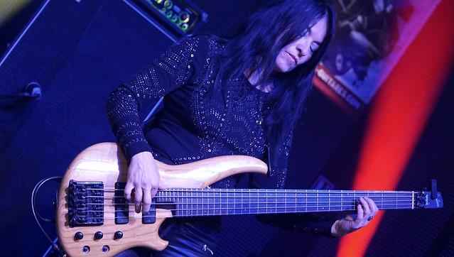 ULRICH ELLISSON and TRIBE (Sabine Ellisson on Bass)  -  blues-rock / USA