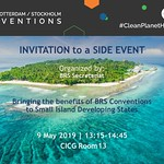 BRS COPs 2019 DAY 10 Side Event - May 9, 2019, Geneva, Switzerland