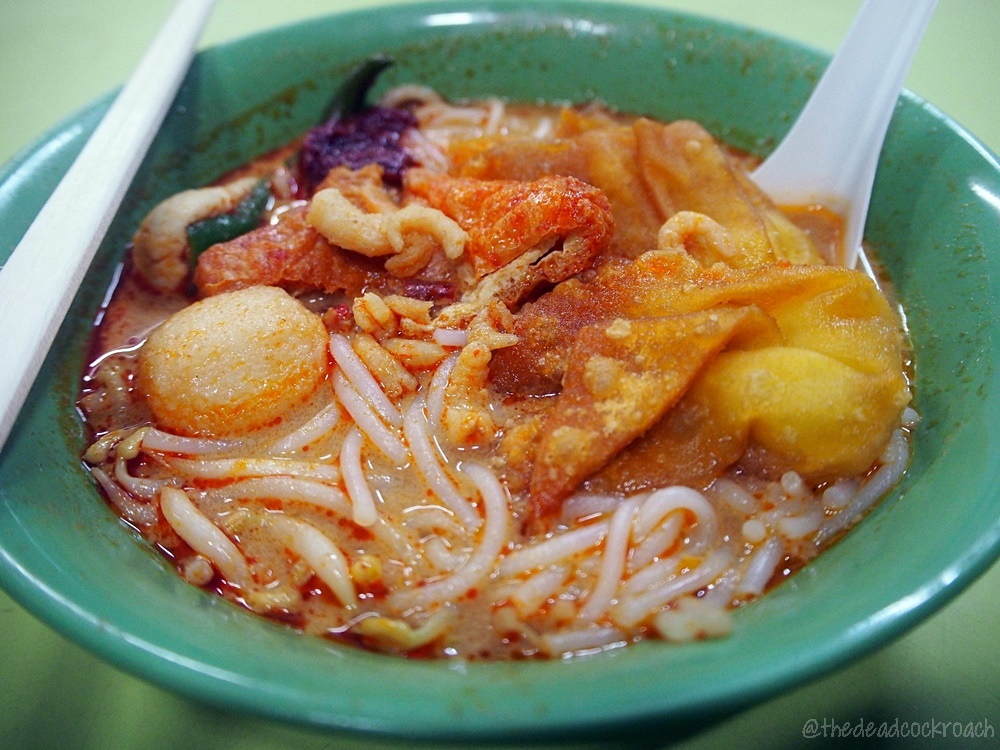 chinatown complex, food, food review, laksa, prawn mee, prawn noodle, review, singapore, smith street, woo ji cooked food, woo ji laksa, woo ji prawn mee, woo ji prawn noodle, 胡記熟食,